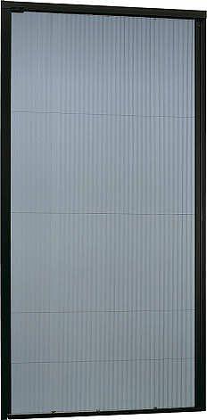 YKKAPオプションリフォーム玄関引戸れん樹RH:横引き収納網戸[幅1173mm×高2169mm]