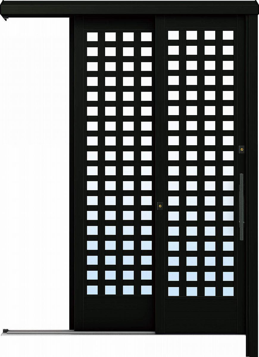 YKKAP玄関 リフォーム玄関引戸 ドアリモ[アウトセット] Y03 アルミ色[単板ガラス]:【YKK】【ドアリモ】【玄関引き戸】【取替】【交換】【DIY】【玄関リフォーム】