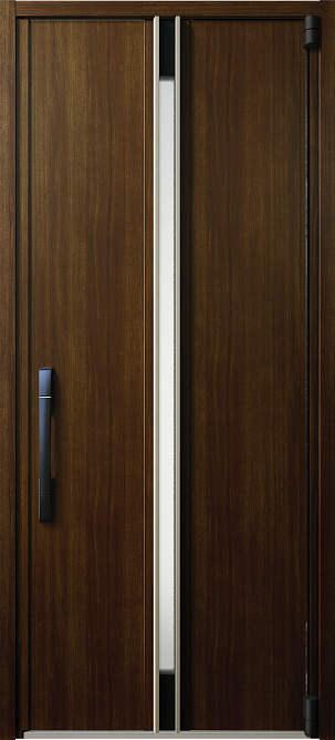 YKKAP玄関 断熱玄関ドア イノベスト[スマートコントロールキー] D50[形材断熱枠仕様] 片開き:109[幅982mm×高2330mm]