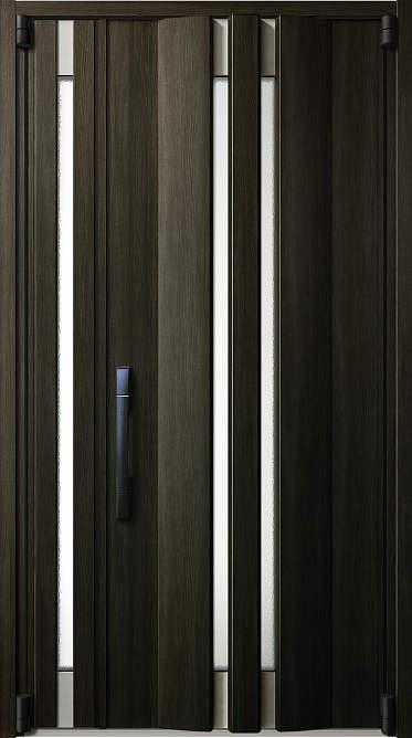 【超目玉枠】 YKKAP玄関 イノベスト[スマートコントロールキー] 断熱玄関ドア 親子:107[幅1235mm×高2330mm]:ノース&ウエスト D50[形材断熱枠仕様]-木材・建築資材・設備
