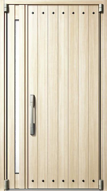 YKKAP玄関 断熱玄関ドア イノベスト[スマートコントロールキー] D50[形材断熱枠仕様] 親子:506[幅1235mm×高2330mm]