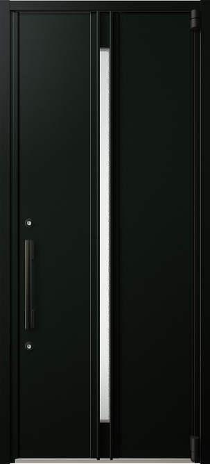 YKKAP玄関 断熱玄関ドア イノベスト D50[形材断熱枠仕様] 片開き:903[幅982mm×高2330mm]