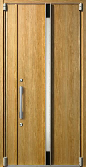 YKKAP玄関 断熱玄関ドア イノベスト D50[形材断熱枠仕様] 親子(入隅用):109[幅1135mm×高2330mm]