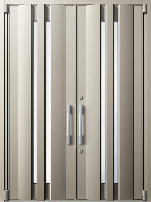 YKKAP玄関 断熱玄関ドア イノベスト D50[形材断熱枠仕様] 両開き:901[幅1690mm×高2330mm]