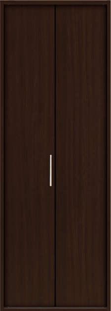 YKKAP収納 クローゼットドア 1枚折戸 木目たてTA ケーシング[三方枠]:[幅823mm×高2033mm]