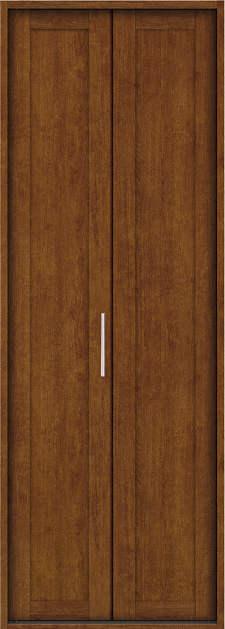 YKKAP収納 クローゼットドア 1枚折戸 NA ノンケーシング枠[四方枠]:[幅733mm×高2345mm]