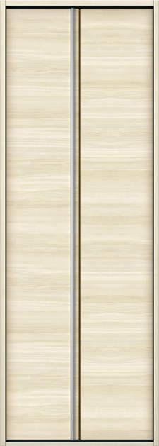YKKAP収納 クローゼットドア 1枚折戸 木目横Y30 ケーシング枠[四方枠]:[幅823mm×高2045mm]