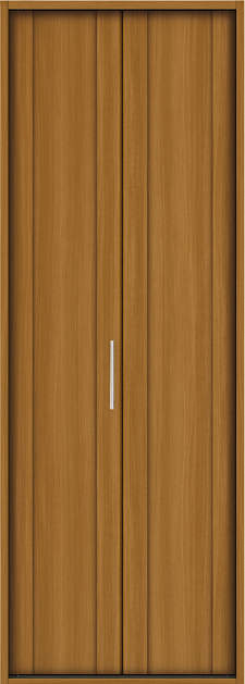 YKKAP収納 クローゼットドア 1枚折戸 JA ノンケーシング枠[三方枠]:[幅733mm×高2333mm]