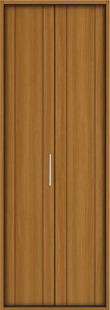 YKKAP収納 クローゼットドア 1枚折戸 JA ケーシング[三方枠]:[幅733mm×高2033mm]