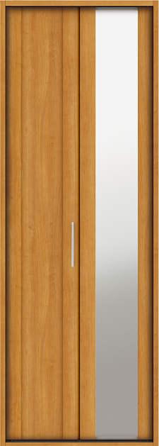 YKKAP収納 クローゼットドア 1枚折戸 JM ケーシング[三方枠]:[幅733mm×高2033mm]