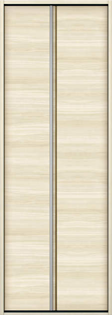 YKKAP収納 クローゼットドア 1枚折戸 木目横Y30 ケーシング[三方枠]:[幅823mm×高2333mm]
