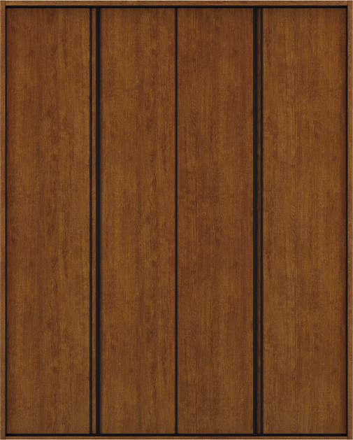 YKKAP収納 クローゼットドア 2枚折戸 木目たてT30 ノンケーシング枠[四方枠]:[幅1188mm×高2045mm]