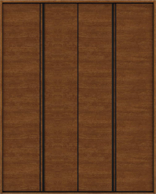 YKKAP収納 クローゼットドア 2枚折戸 木目横Y30 ケーシング枠[四方枠]:[幅1680mm×高2045mm]