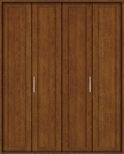 YKKAP収納 クローゼットドア 2枚折戸 NA ノンケーシング枠[三方枠]:[幅1643mm×高2033mm]