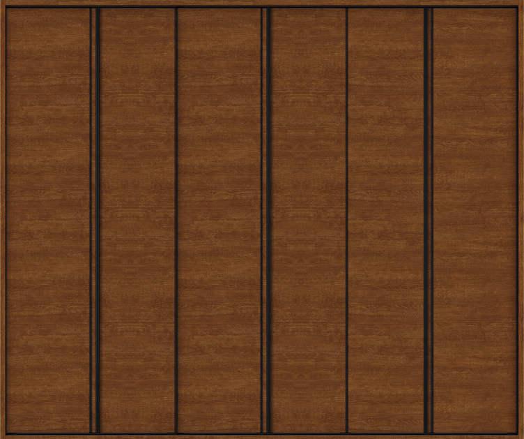YKKAP収納 クローゼットドア 3枚折戸 木目横Y30 ノンケーシング枠[四方枠]:[幅2553mm×高2345mm]