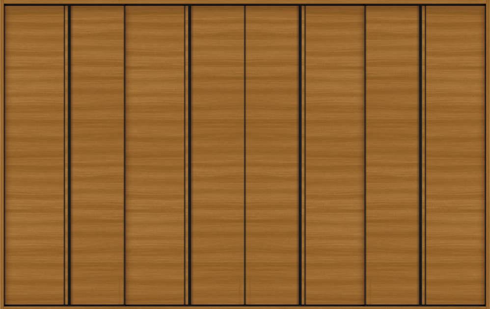 YKKAP収納 クローゼットドア 4枚折戸 木目横Y30 ノンケーシング枠[四方枠]:[幅3246mm×高2345mm]