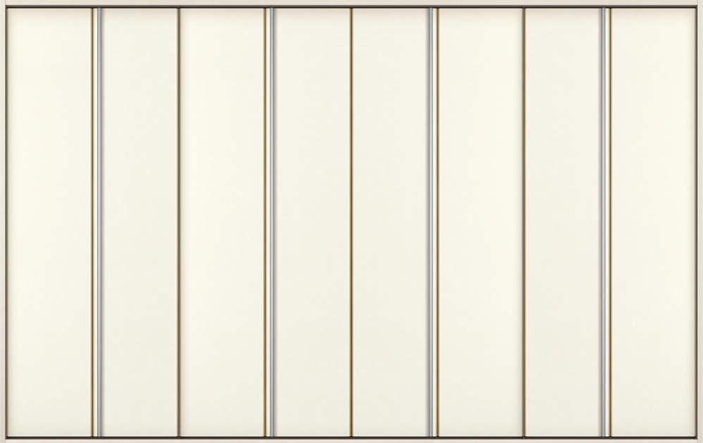 YKKAP収納 クローゼットドア 4枚折戸 木目たてT30 ケーシング[三方枠]:[幅3246mm×高2333mm]