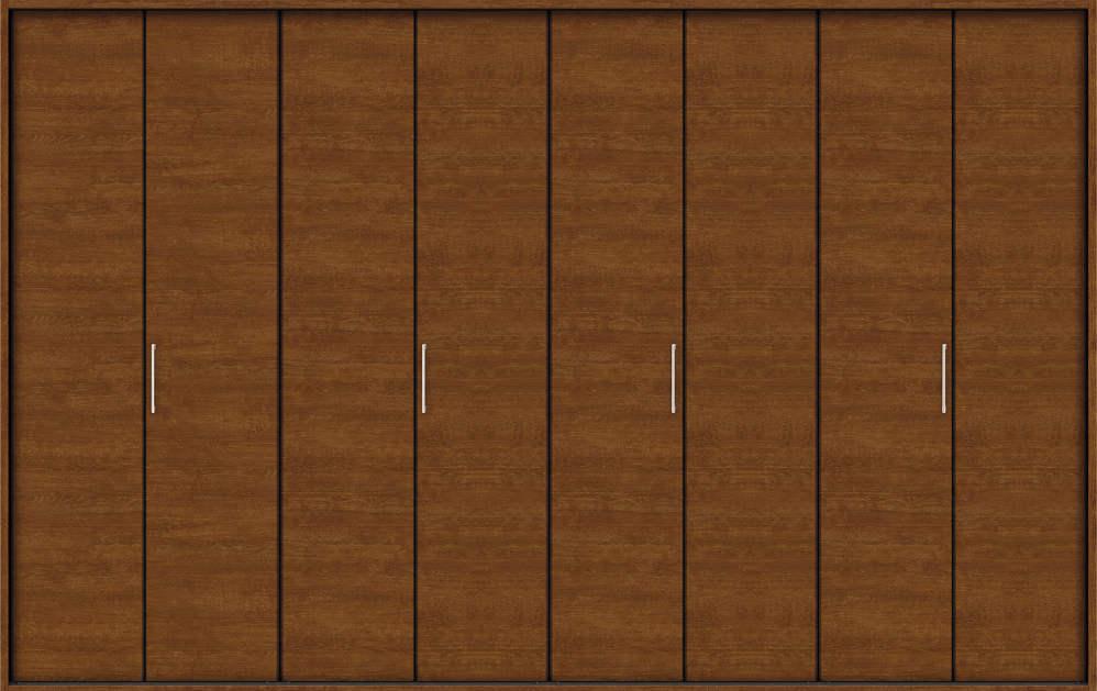色々な YKKAP収納 クローゼットドア 4枚折戸 木目横YA 木目横YA ケーシング[三方枠]:[幅3246mm×高2033mm]:ノース 4枚折戸&ウエスト, ナカミチマチ:d185f08d --- fricanospizzaalpine.com