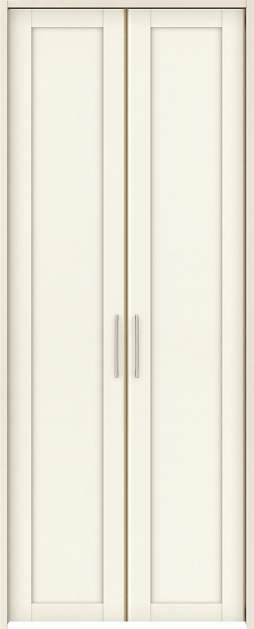 YKKAP収納 クローゼットドア 両開き戸 NA ノンケーシング枠[四方枠]:[幅823mm×高2045mm]