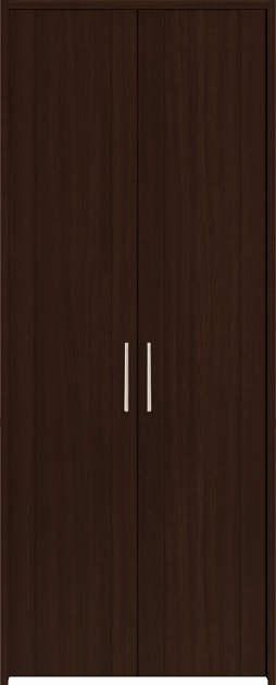YKKAP収納 クローゼットドア 両開き戸 JA ノンケーシング枠[四方枠]:[幅823mm×高2345mm]
