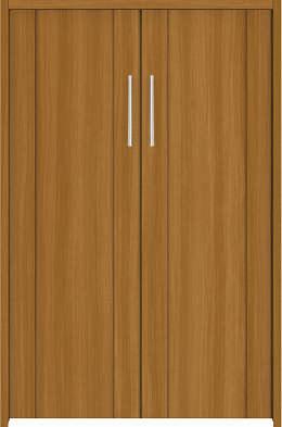 YKKAP収納 クローゼットドア 両開き戸 JA ノンケーシング枠[四方枠]:[幅733mm×高1245mm]