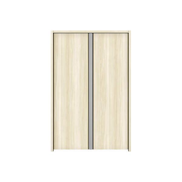 YKKAP収納 クローゼットドア 両開き戸 木目たてT30 ノンケーシング枠[四方枠]:[幅1188mm×高1245mm]
