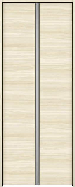 YKKAP収納 クローゼットドア 両開き戸 木目横Y30 ケーシング枠[四方枠]:[幅1188mm×高2345mm]