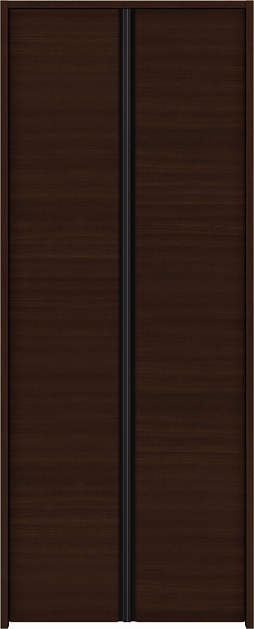 YKKAP収納 クローゼットドア 両開き戸 木目横Y30 ケーシング枠[四方枠]:[幅823mm×高1845mm]