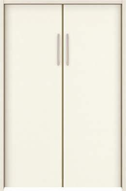 YKKAP収納 クローゼットドア 両開き戸 木目たてTA ケーシング枠[四方枠]:[幅1188mm×高1245mm]