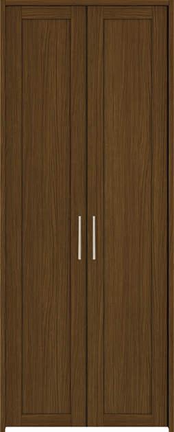 YKKAP収納 クローゼットドア 両開き戸 NA ケーシング枠[四方枠]:[幅733mm×高2045mm]