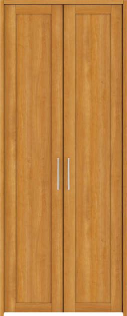 YKKAP収納 クローゼットドア 両開き戸 NA ケーシング枠[四方枠]:[幅823mm×高2345mm]