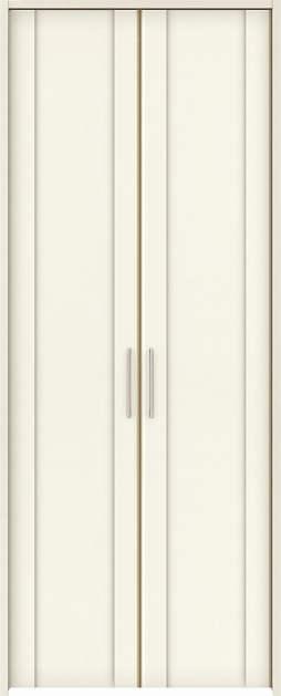 YKKAP収納 クローゼットドア 両開き戸 JA ケーシング枠[四方枠]:[幅1188mm×高2345mm]