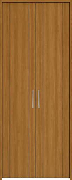 YKKAP収納 クローゼットドア 両開き戸 JA ノンケーシング枠[三方枠]:[幅1188mm×高2033mm]