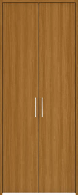 YKKAP収納 クローゼットドア 両開き戸 木目たてTA ケーシング[三方枠]:[幅1188mm×高1833mm]