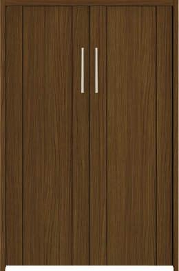 YKKAP収納 クローゼットドア 両開き戸 JA ケーシング[三方枠]:[幅733mm×高933mm]