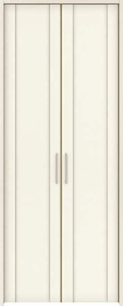 YKKAP収納 クローゼットドア 両開き戸 JA ケーシング[三方枠]:[幅823mm×高2033mm]