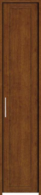 YKKAP収納 クローゼットドア 片開き戸 NA ノンケーシング枠[四方枠]:[幅620mm×高2345mm]