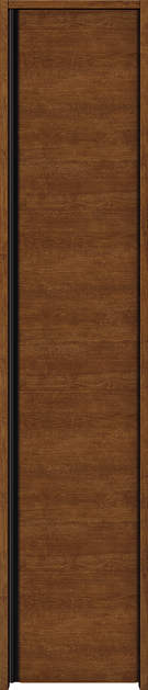 YKKAP収納 クローゼットドア 片開き戸 木目横Y30 ケーシング枠[四方枠]:[幅438mm×高2045mm]