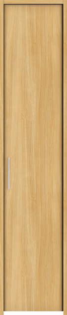 YKKAP収納 クローゼットドア 片開き戸 木目たてTA ケーシング枠[四方枠]:[幅438mm×高2345mm]