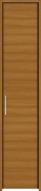 YKKAP収納 クローゼットドア 片開き戸 木目横YA ケーシング枠[四方枠]:[幅438mm×高2345mm]