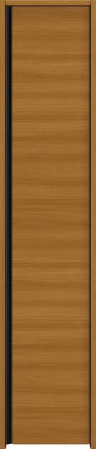 YKKAP収納 クローゼットドア 片開き戸 木目横Y30 ノンケーシング枠[三方枠]:[幅438mm×高2033mm]