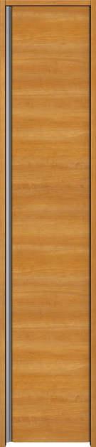 YKKAP収納 クローゼットドア 片開き戸 木目横Y30 ケーシング[三方枠]:[幅620mm×高2033mm]