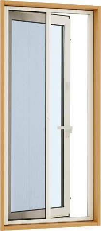 YKKAPオプション 窓サッシ 装飾窓 フレミングJ:横引きロールクリアネット網戸[幅733mm×高1096mm]