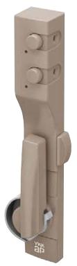 YKKAPオプション窓サッシ引き違い窓エピソードNEO:ボタン錠付クレセント(和室用)