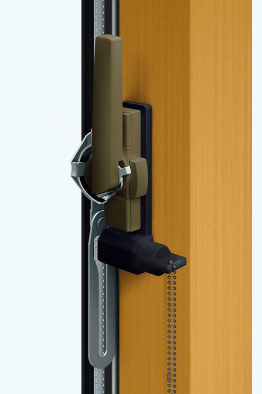 YKKAPオプション窓サッシ引き違い窓エピソードNEO:開口制限ストッパー