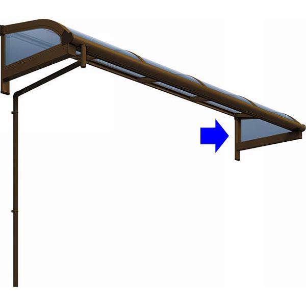 YKKAPオプション アール型 ウォールエクステリア テラス屋根 0.5間~2間用 ヴェクター:屋根妻パネル 奥行:4尺[1170mm] アール型 強度:1500N/ 0.5間~2間用 強度:1500N/, キラリネットショップ:73bf3694 --- sunward.msk.ru
