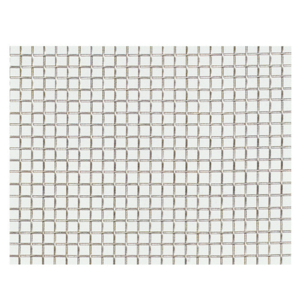 産業用金網 ステンレス平織金網 線径0.50mm:20メッシュ 開目0.77mm[幅1m×長さ6m]【ステンレス】【金網】