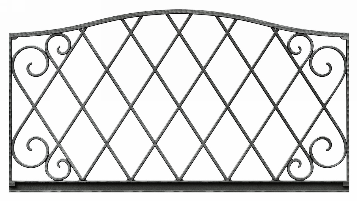 YKKAPガーデンエクステリア フェンス シャローネ ES11型 フェンス本体:[幅1000mm]×[高600mm]