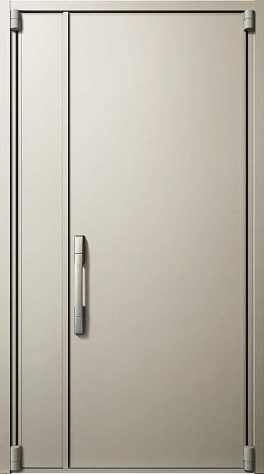 YKKAP玄関 断熱玄関ドア イノベスト[スマートコントロールキー] D50[形材断熱枠仕様] 親子:904[幅1235mm×高2330mm]