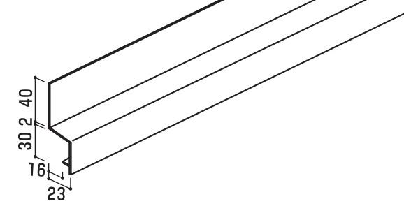 [送料無料] YKK ap アルミ 外壁材 アルカベール 専用部材 タテ張り施工用 連結水切 4000ミリ 8本 【地震 耐震 耐久性 災害 サビない 錆 雨 風 防音 寒冷地 サイディング サイジング 外装 新築 改築 リフォーム DIY 住宅建材 塩害 軽い】